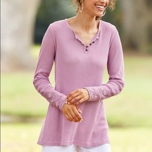 Soft Surroundings Tops - Soft Surroundings Maggie Top Long Sleeve Size LG